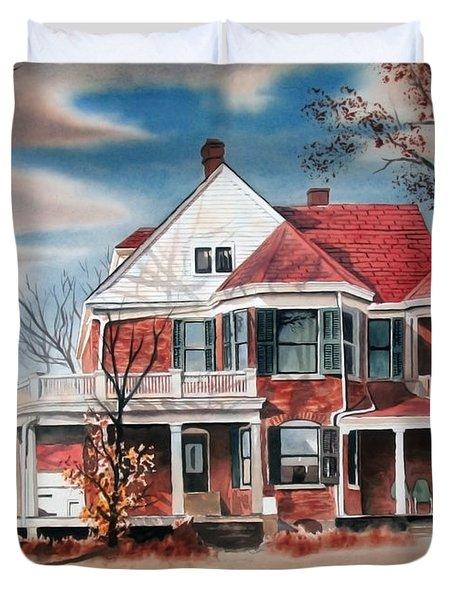 Edgar Home Duvet Cover