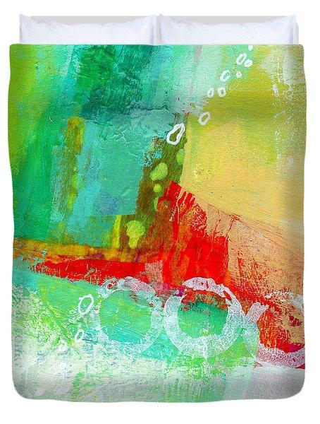 Edge 59 Duvet Cover by Jane Davies