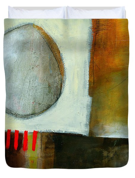 Edge Location #4 Duvet Cover by Jane Davies