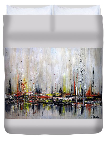 Edge Of Perception Duvet Cover