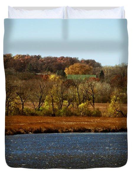 Edge Of The Marsh Duvet Cover