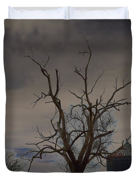 Edge Of The Storm Duvet Cover by Alys Caviness-Gober