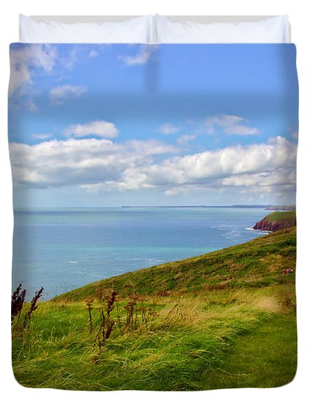 Edge Of The World Duvet Cover