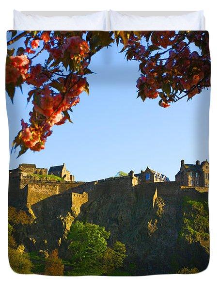 Edinburgh Castle  Duvet Cover by Craig B