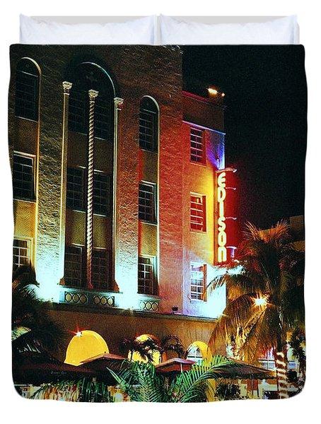 Edison Hotel Film Image Duvet Cover