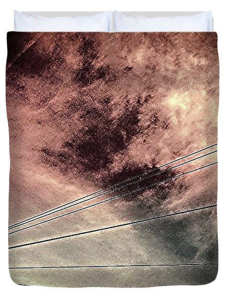 Dramatic Sky 3 Duvet Cover