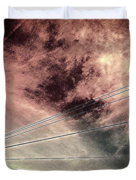 Dramatic Sky 3 Duvet Cover by Jason Michael Roust