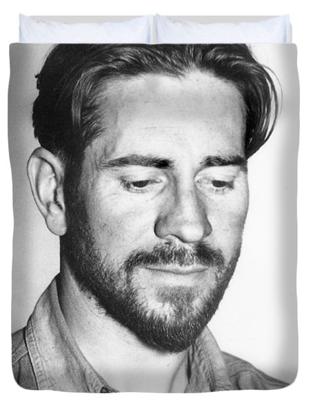 Edward Flanders Robb Ricketts       May 14 1897  May 11 1948  Duvet Cover by California Views Mr Pat Hathaway Archives