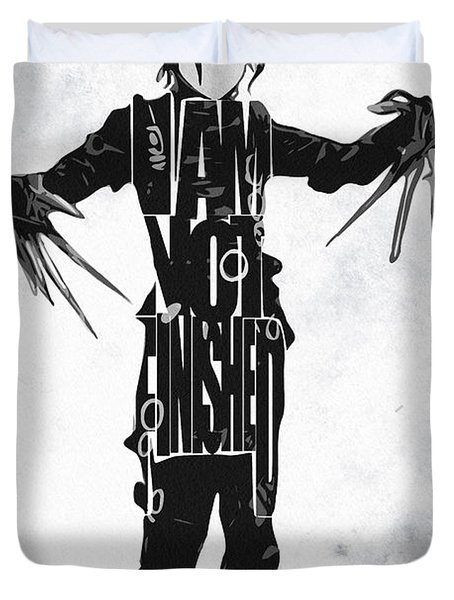 Edward Scissorhands - Johnny Depp Duvet Cover