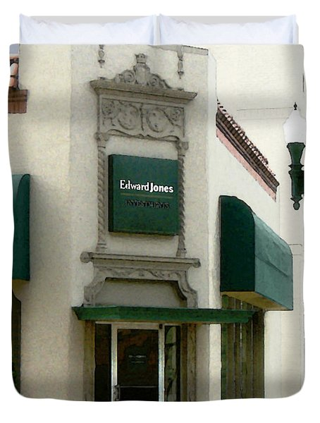 Edwardjones Duvet Cover