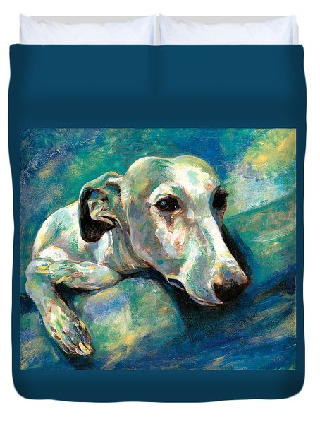 Effects Of Gravity 1 Duvet Cover by Derrick Higgins