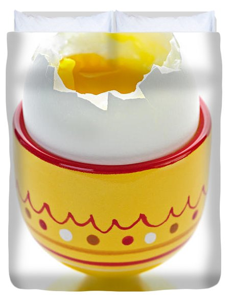 Egg In Cup Duvet Cover