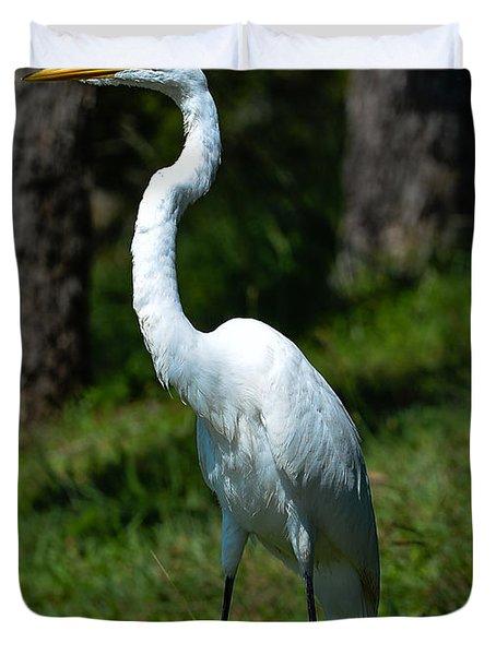 Egret - Full Length Duvet Cover