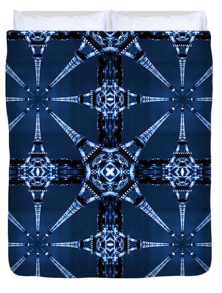 Eiffel Art33a Duvet Cover