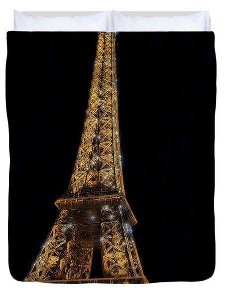 Eiffel Tower 4 Duvet Cover