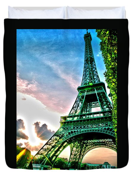 Eiffel Tower 8 Duvet Cover