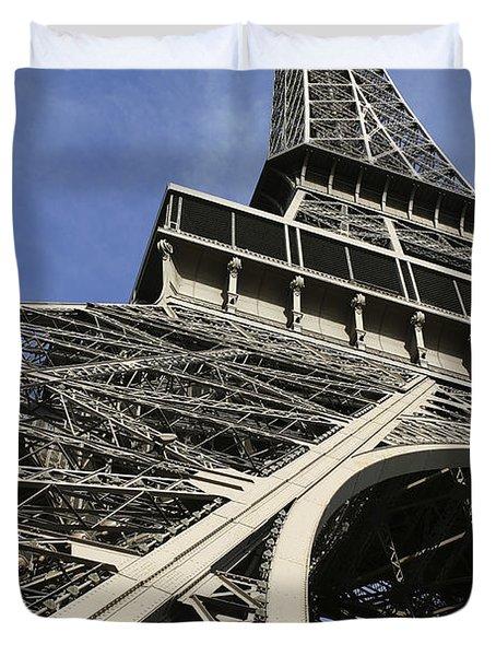 Eiffel Tower Duvet Cover by Belinda Greb