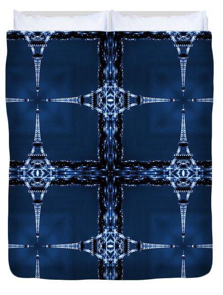 Eiffelart 28 Duvet Cover by Mike McGlothlen