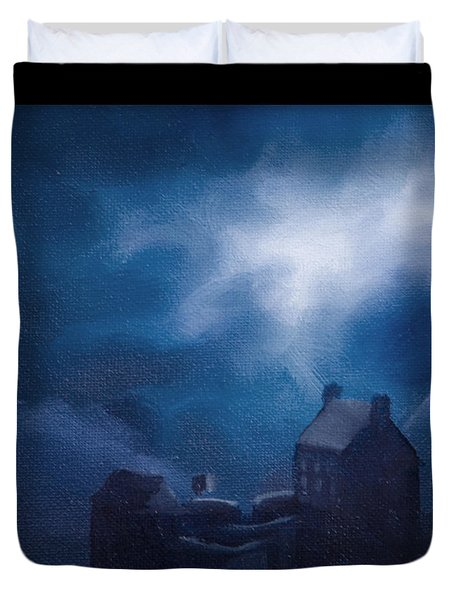 Eilean Donan Castle Duvet Cover by James Christopher Hill