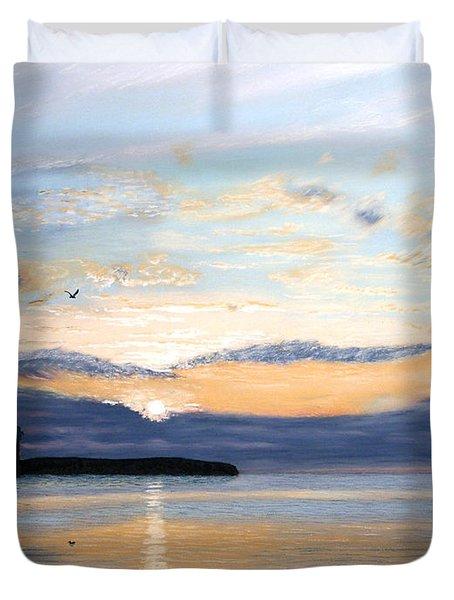 Eileen's Sunset Duvet Cover