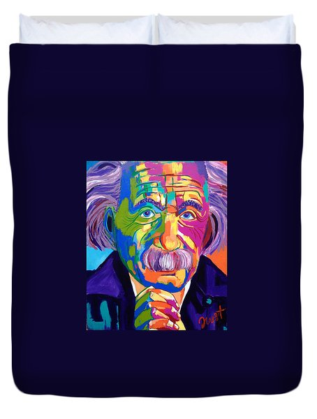 Einstein  Duvet Cover