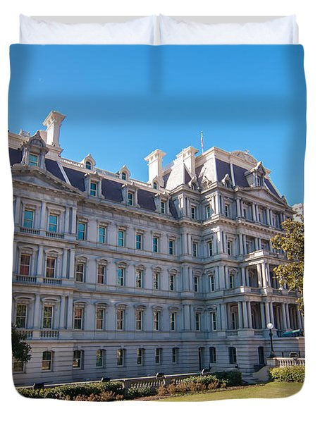 Eisenhower Executive Office Building In Washington Dc Duvet Cover