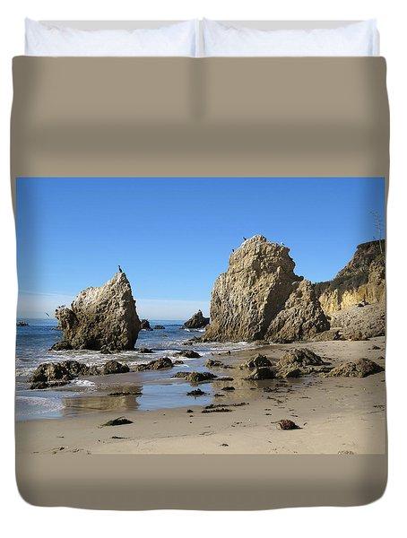 El Matador Beach Duvet Cover