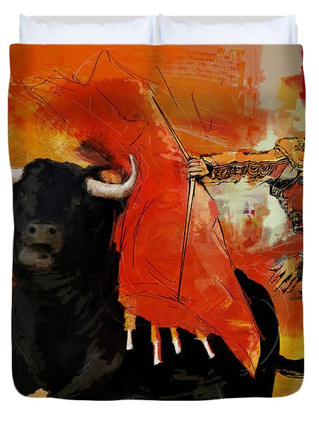 El Matador Duvet Cover by Corporate Art Task Force