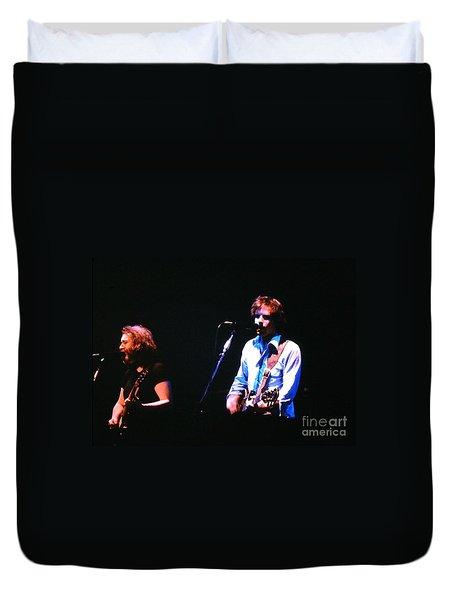 The Grateful Dead 1980 Capitol Theatre Duvet Cover