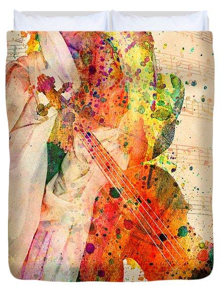 El Violin  Duvet Cover