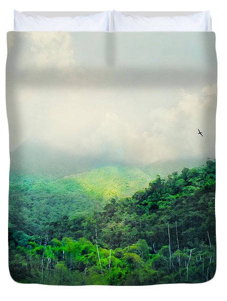El Yunque National Rain Forest Duvet Cover