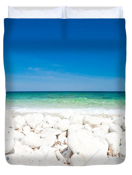 Elba - Capo Bianco  Duvet Cover