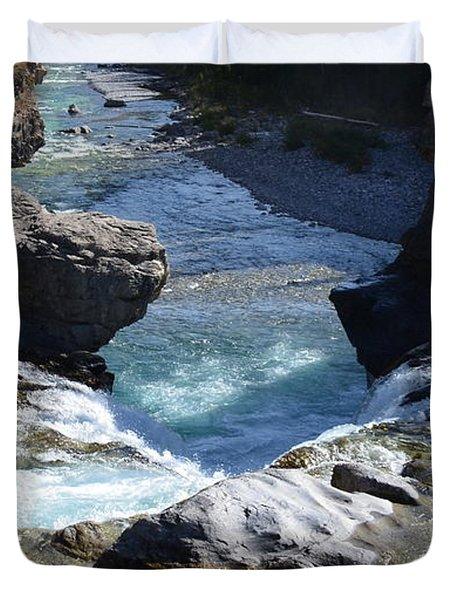 Elbow Falls Duvet Cover