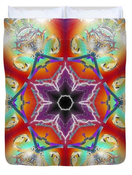 Electric Enlightenment Duvet Cover
