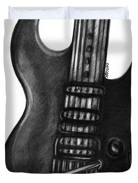 Electric Guitar Duvet Cover