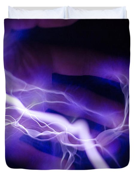 Electric Hand Duvet Cover