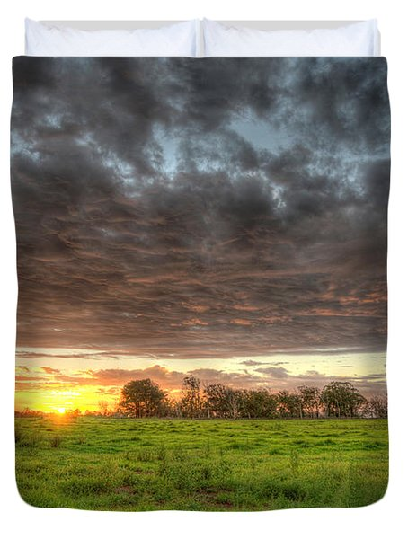 Elements Of A Waimea Sunset Duvet Cover