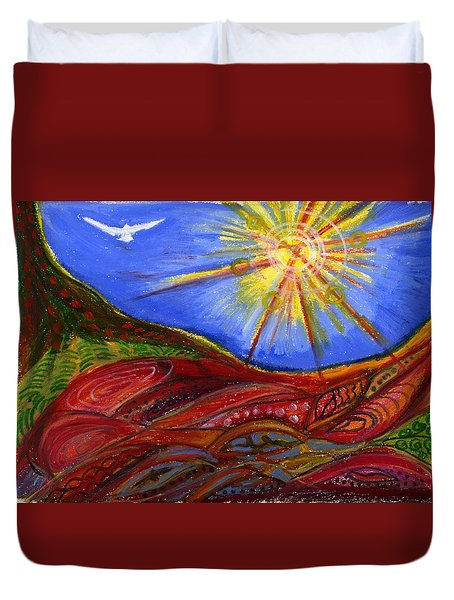 Elements Of Earth Duvet Cover