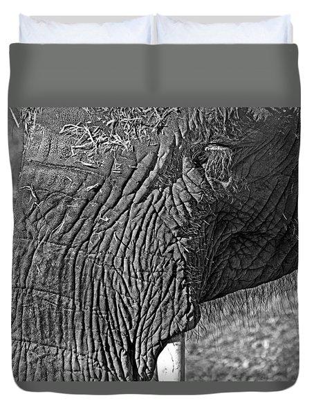 Elephant.. Dont Cry Duvet Cover by Miroslava Jurcik