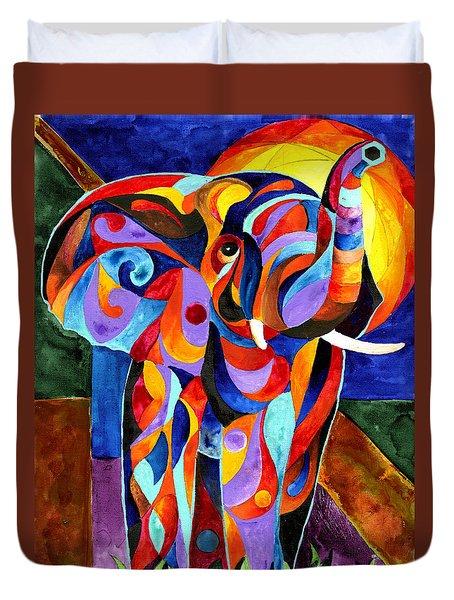 Elephant Dream Duvet Cover