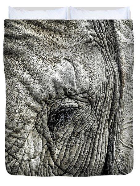 Elephant Duvet Cover by Elena Elisseeva