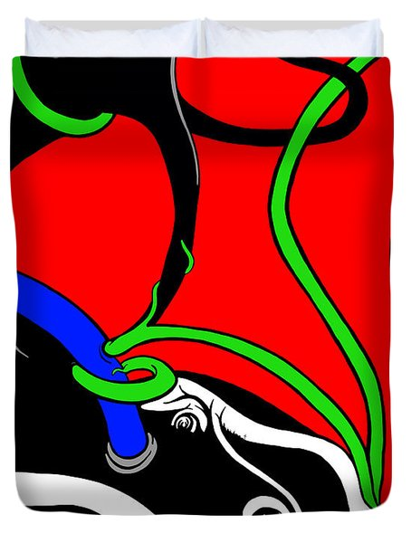 Elephant Titus Duvet Cover