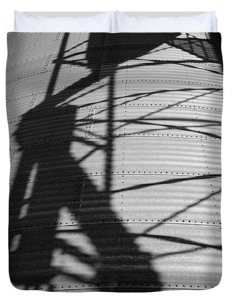 Elevator Shadow Duvet Cover