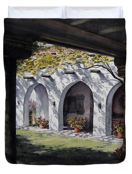 Elfrida Courtyard Duvet Cover