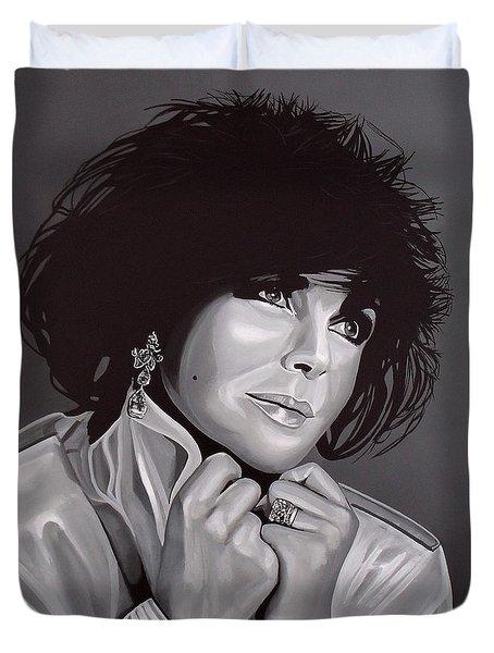 Elizabeth Taylor Duvet Cover by Paul Meijering