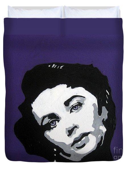 Elizabeth Taylor Duvet Cover by Venus