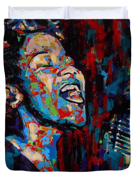 Ella Fitzgerald Duvet Cover