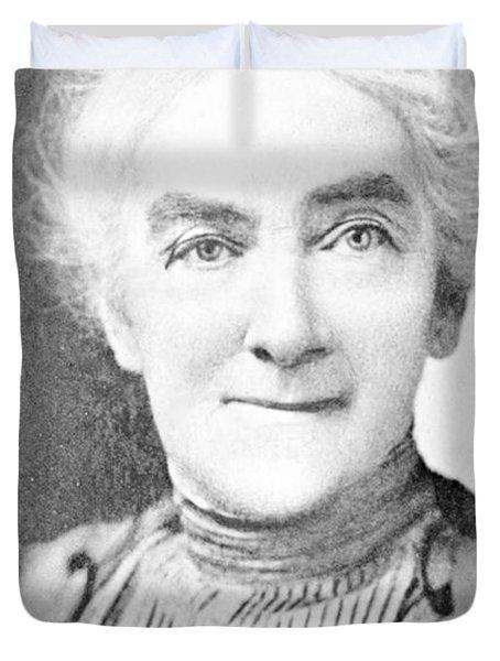 Ellen Swallow Richards, American Chemist Duvet Cover