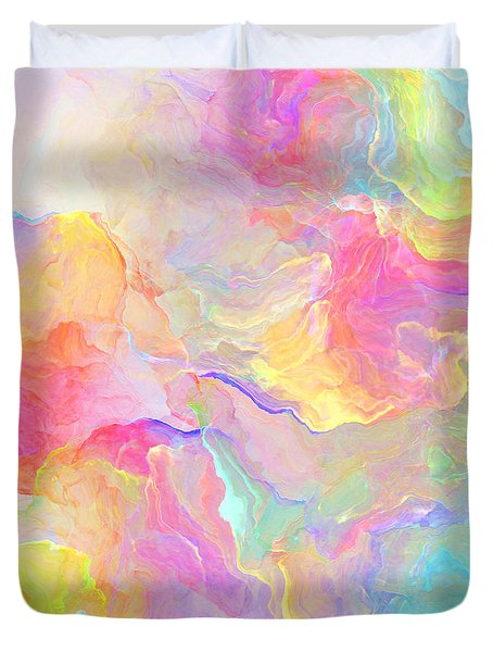 Eloquence - Abstract Art Duvet Cover