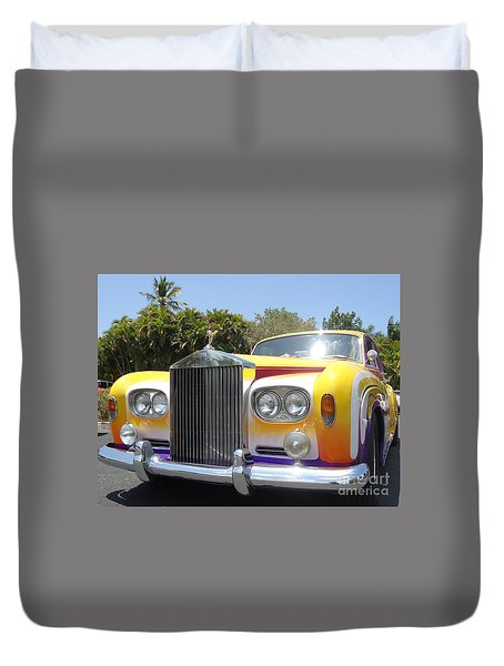 Elton John's Old Rolls Royce Duvet Cover by Barbie Corbett-Newmin